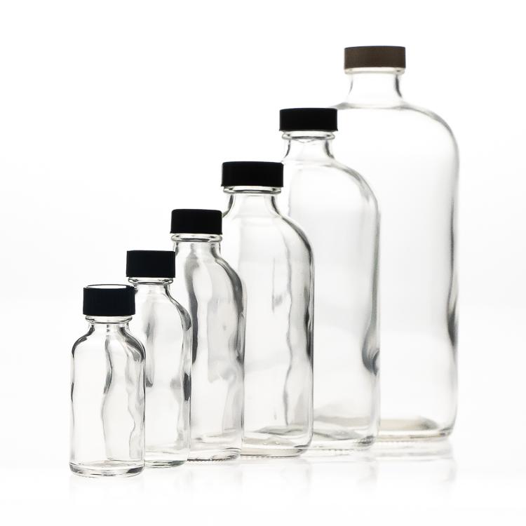 16oz-500ml-clear-boston-round-glass-bottle
