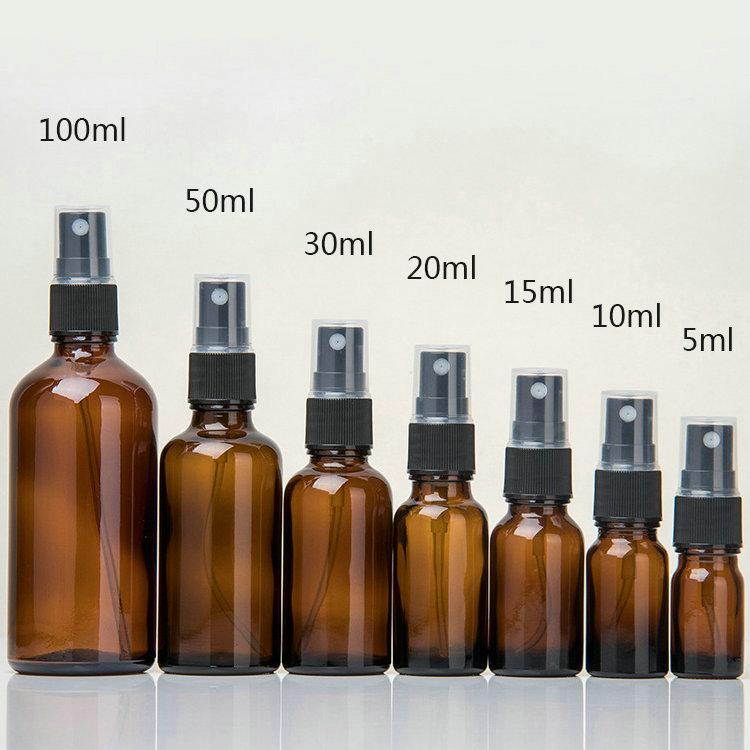wetroyes-5ml 10ml 15ml 20ml 30ml 50ml 100ml-amber-essential oil bottle