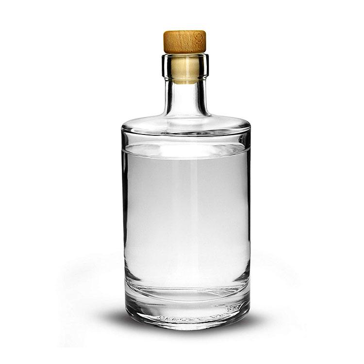 glass liquor bottle