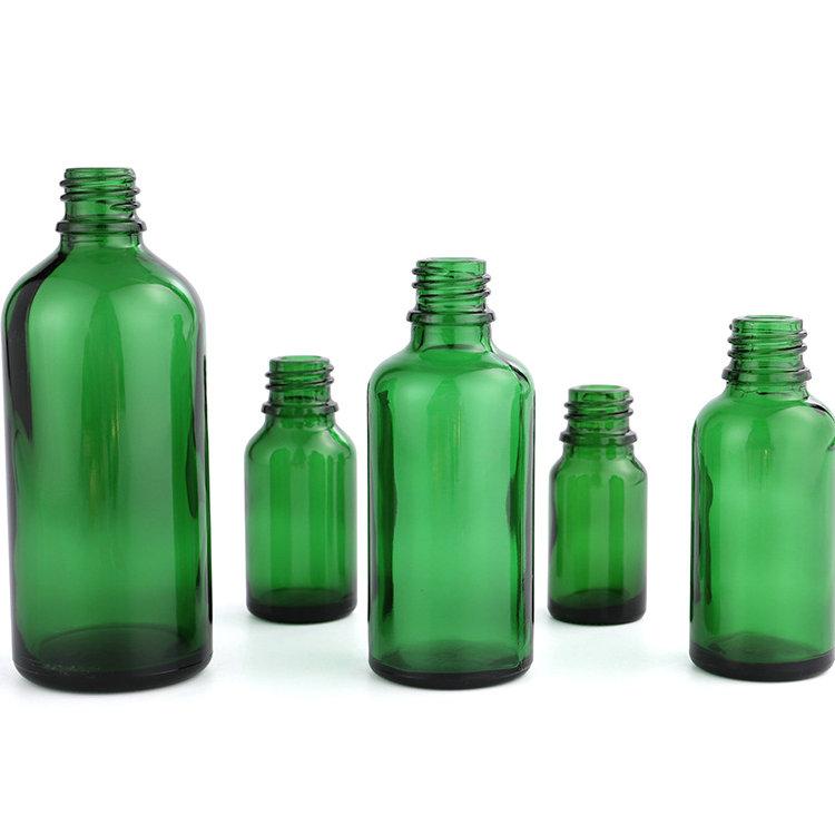 wetroyes-5ml 10ml 15ml 20ml 30ml 50ml 100ml-green-essential oil bottle